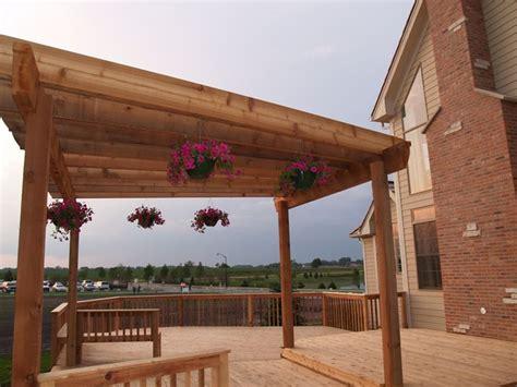 tettoie in legno per terrazzi coperture per tettoie copertura tetto