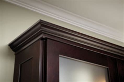 crown moldings for kitchen cabinets crown molding above kitchen cabinets for the home