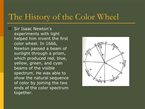 who invented the color wheel the color wheel 1