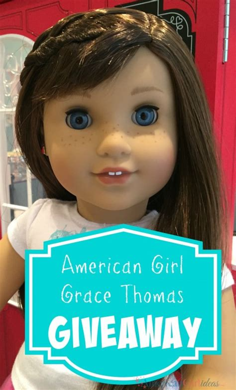 American Girl Doll Giveaway - american girl grace thomas giveaway american girl idea american girl ideas