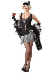great gatsby flapper costume long hairstyles