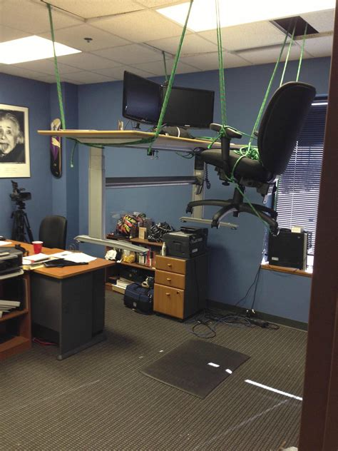 office pranks at desks 50 ways to liven up your working day at the office the poke