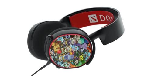 Steelseries Arctis 5 Dota 2 Limited Edition 7 1 Gaming Headset 61445 steelseries arctis 5 dota 2 edition stays in its futurelooks