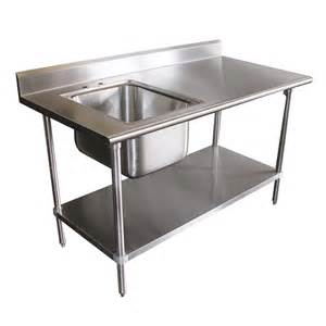 advance tabco kms 11b 30 table commercial sink stainless