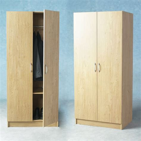 Two Door Closet Cheap 2 Door Wardrobe Closet View Wardrobe Closet Noshsion Product Details From Weifang
