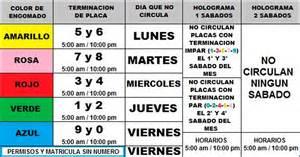 no circula sabatino 2016 calendario h ayuntamiento de atizap 225 n de zaragoza