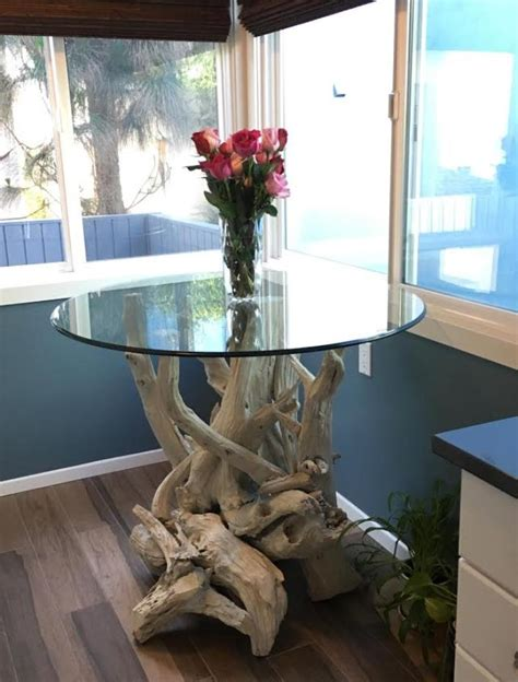 driftwood kitchen table beautiful driftwood dining table crafted from gulf island driftwood