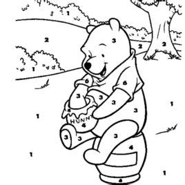 color by disney color by number coloring pages disney coloring pages with