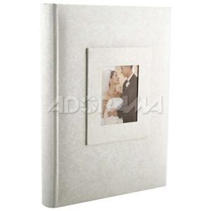 Wedding Albums For 4x6 Photos by 90732 Kleer Vu Photo Memo Album With Window Wedding