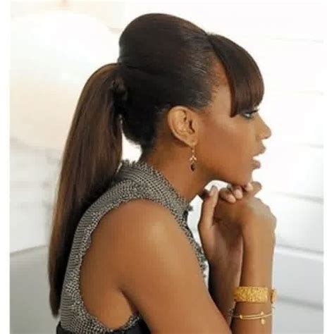 woman with ong pubic hair weave ponytail hairstyles for black women up do s and
