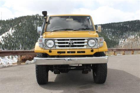 1991 Toyota Land Cruiser Lift Kit 1991 Toyota Hzj77 Land Cruiser Hzj73 Fj60 Fj62 Hj61 Hdj81