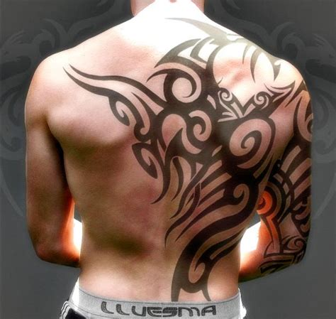 upper back tribal tattoos for men 40 most popular tribal tattoos for tattoos photos