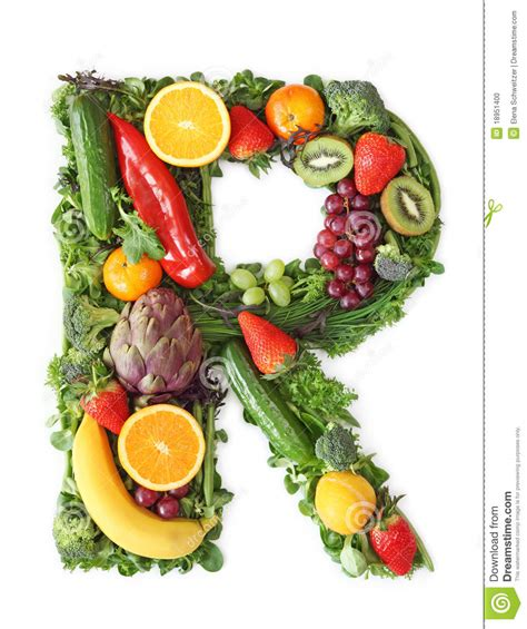 p fruit 4 letters fruit and vegetable alphabet stock photo image of
