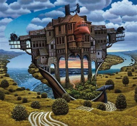 Yerka Paints Like An by Surreal Paintings By Jacek Yeerka