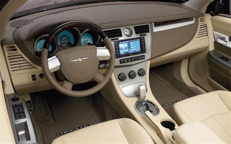 2008 Chrysler Sebring Interior by 2008 Chrysler Sebring Convertible Newcomers Motor Trend