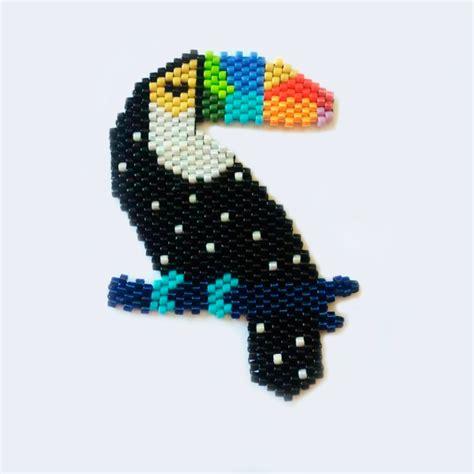 diagramme brick stitch diagramme tissage brick stitch toucan perles co