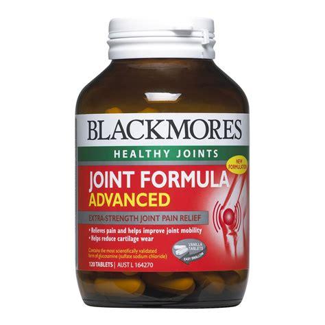 Blackmores Joint Formula Glucosamine Chondroitin Isi 120 T T0310 blackmores joint formula advanced 120 tablets opal