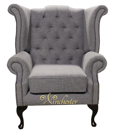 traditional fabric high back sofas chesterfield fabric queen anne high back wing chair verity