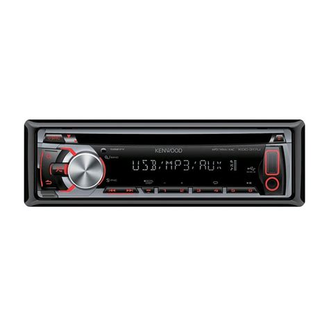 android compatible car stereo kdc 317ur cd mp3 car stereo usb android compatible aux in