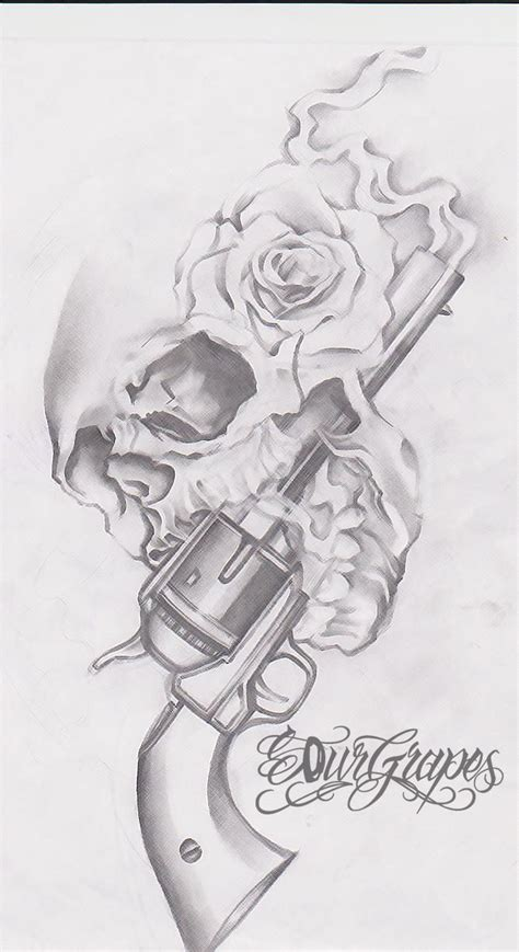 tattoo gun labeled skull with guns and roses tattoo amazing tattoo