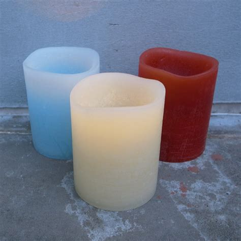 inaus candele led led アロマキャンドル flameless candle barcelona