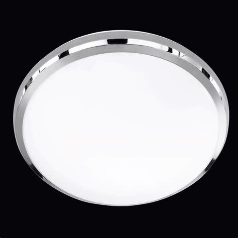 flush fitting circular 31cm led ceiling light lighting