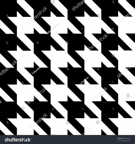 houndstooth pattern vector seamless modern houndstooth pattern stock vector