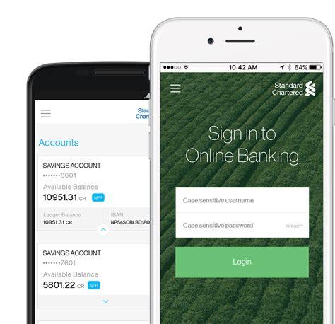 mobile banking app standard chartered nepal