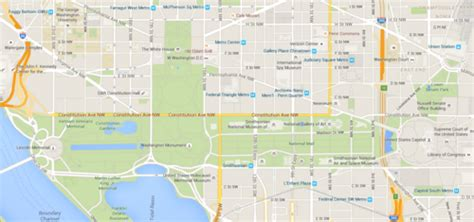 washington dc map kennedy center if metro adds kennedy center and national mall to