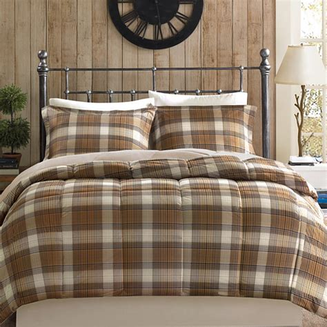 woolrich down comforter woolrich lumberjack plaid softspun down alternative