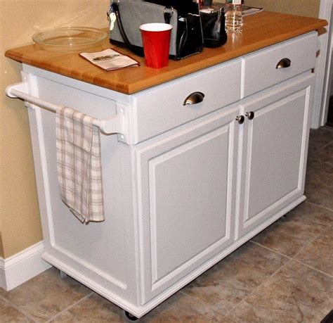 rolling island kitchen build a rolling kitchen island diy kitchen islands