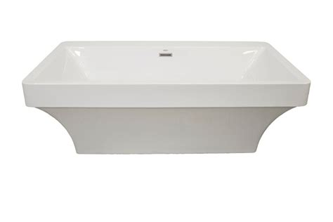 2 piece bathtub mirolin beacon 2 piece acrylic freestanding bathtub the