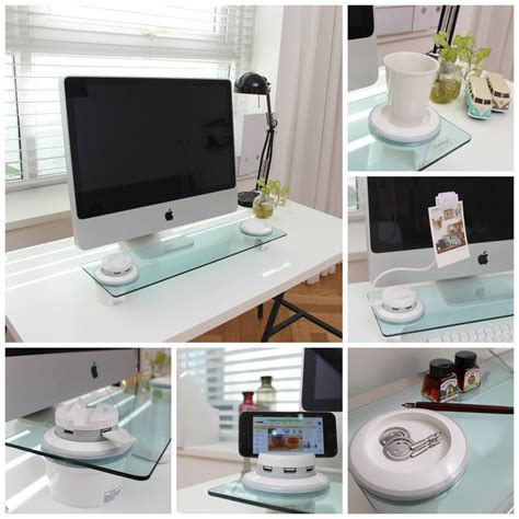 desk organizer monitor i bridge multi function desk organizer monitor stand