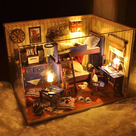 Doll House Decorating New Room 2 by 2016 New Home Decoration Crafts Diy Doll House Wooden