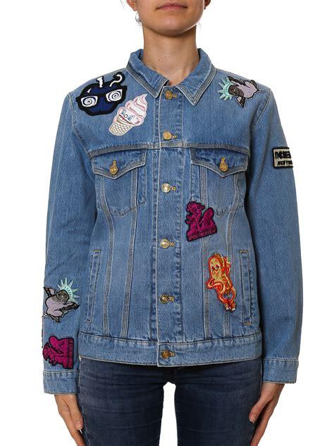 Patch Denim patch detail denim jacket by kenzo denim jacket shop
