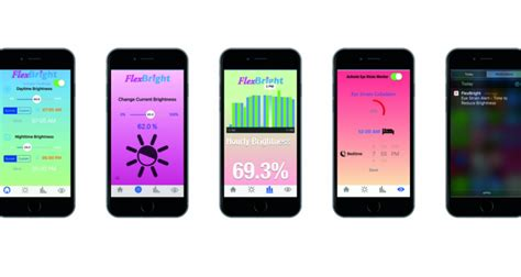 Blue Light Filter App Iphone by Flexbright App Adjusts Iphone Screen Color Temperature