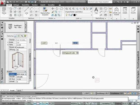 tutorial autocad architecture 2017 autocad architecture tutorial 02 15 214 ffnungen youtube