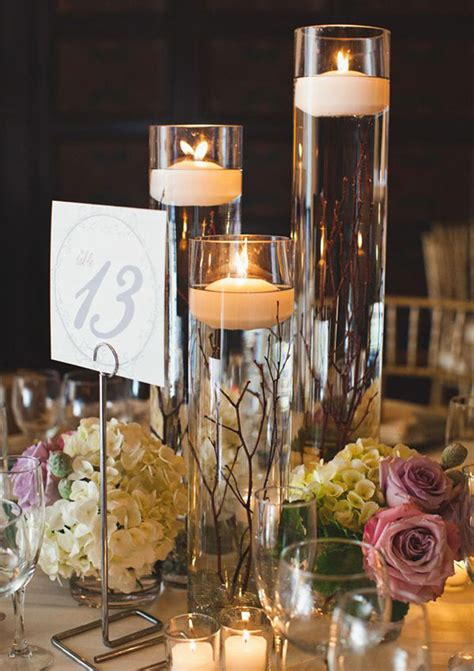 wedding candle centerpieces ideas sang maestro