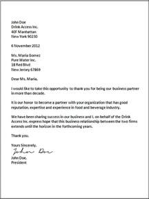 Acceptable Business Letter Closings Proper Closing For A Business Letter The Best Letter Sample