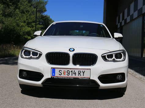 Bmw 1er Reihe Antriebsart by Bmw 118d Sport Line Testbericht Autoguru At