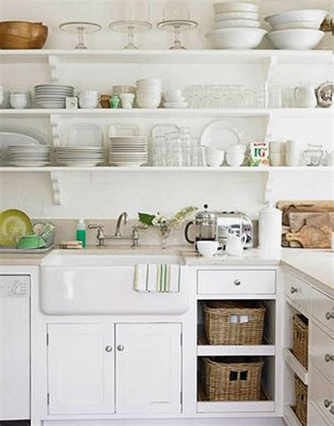 Shelves Instead Of Kitchen Cabinets 31 Best Images About Open Kitchen Ideas On Pinterest Open Kitchen Shelving Industrial And