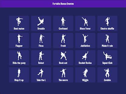 dance emotes for fortnite download apk for android | apkshopi