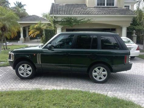 repair anti lock braking 2003 land rover range rover transmission control sell used 2003 range rover hse in west palm beach florida united states