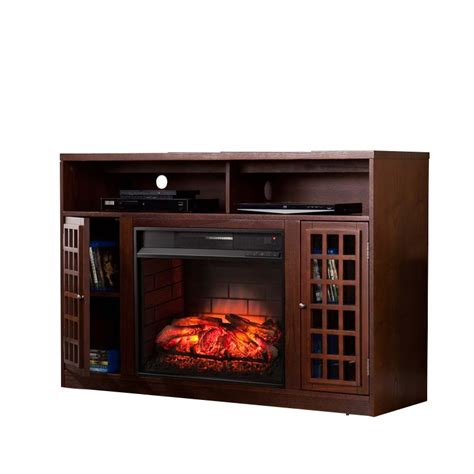 infrared l with stand southern enterprises narita infrared electric fireplace tv