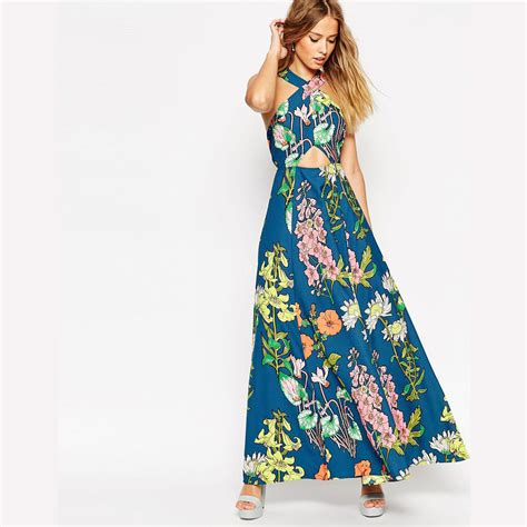 latest vogue style colcci jeans dresses 2015 new fashion 2015 summer style maxi women dress casual off