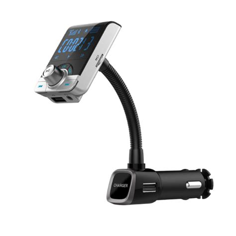 Bluetooth Transmitter Bt 4 Black bluetooth fm transmitters mobil 3 5mm 2 usb port