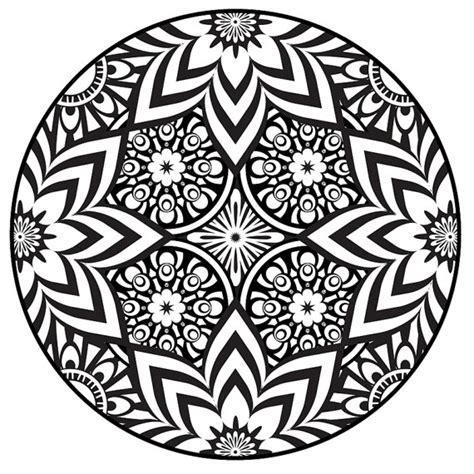 items similar to mandala coloring page instant pdf