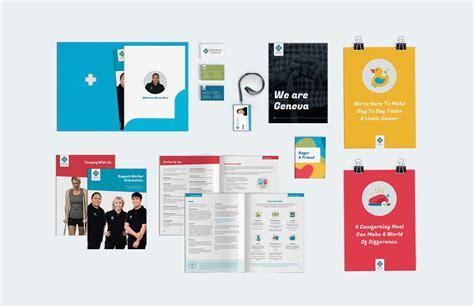 visual design management geneva geneva healthcare graphic design by little giant auckland