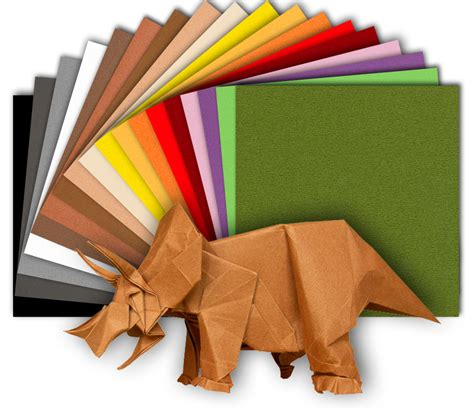 The Origami Shop - pack tant 20 sheets 20 colors