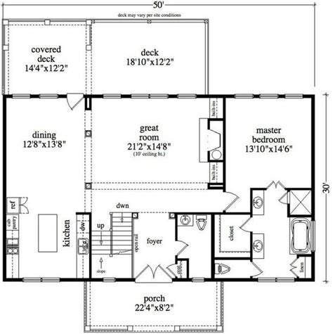 30x50 house floor plans 30 x 50 floor plan lot 6 house plans pinterest cabin floor plans and vacations